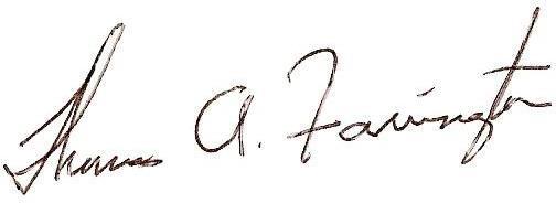 Farrington Signature