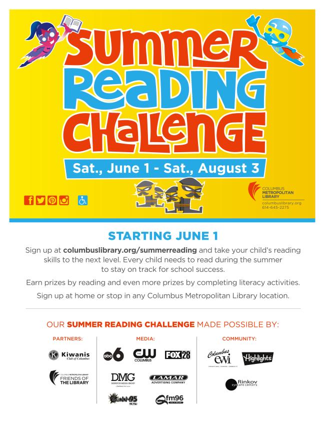 Link for Summer Reading Challenge