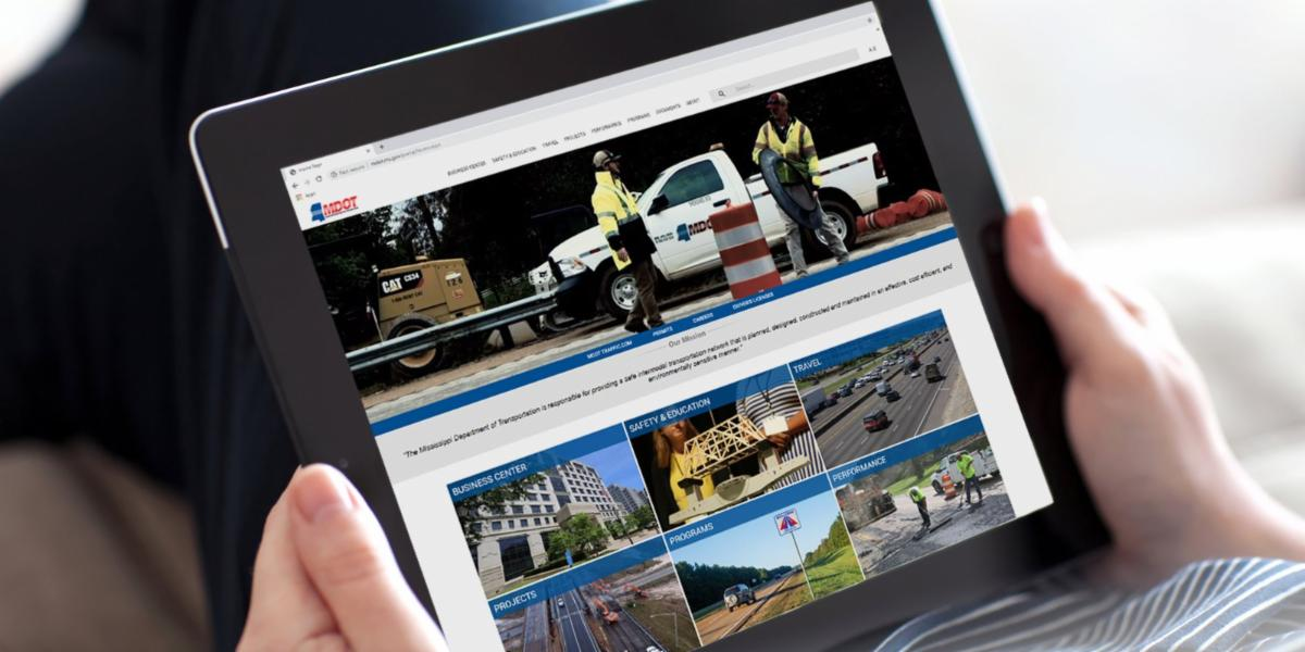 MDOT Unveils New Website