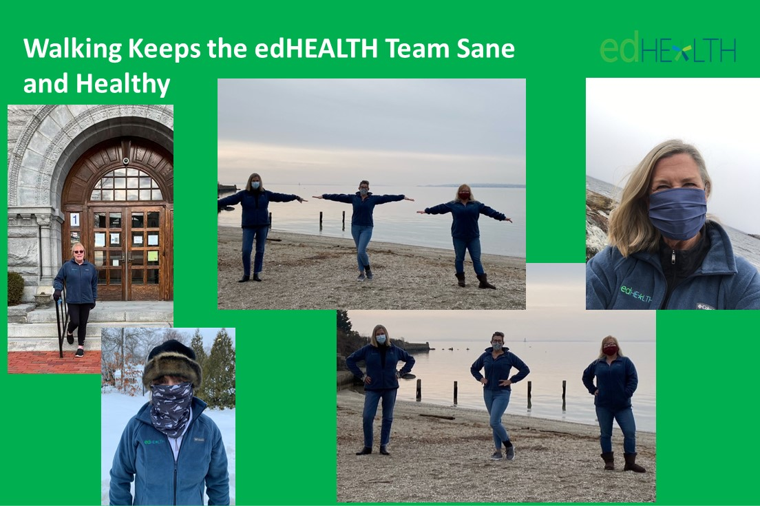 Walking Keeps us Sane and Healthy