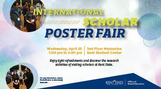 International Sholar Poster Fair_ April 25