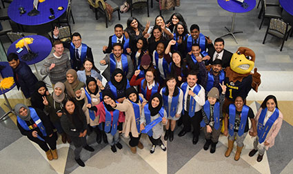 International Graduation Reception_ Fall Semester 2017