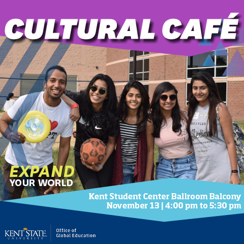 November 2018 Cultural Cafe graphic