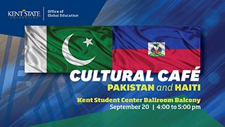 Cultural Cafe_ Pakistan and Haiti_ September 20