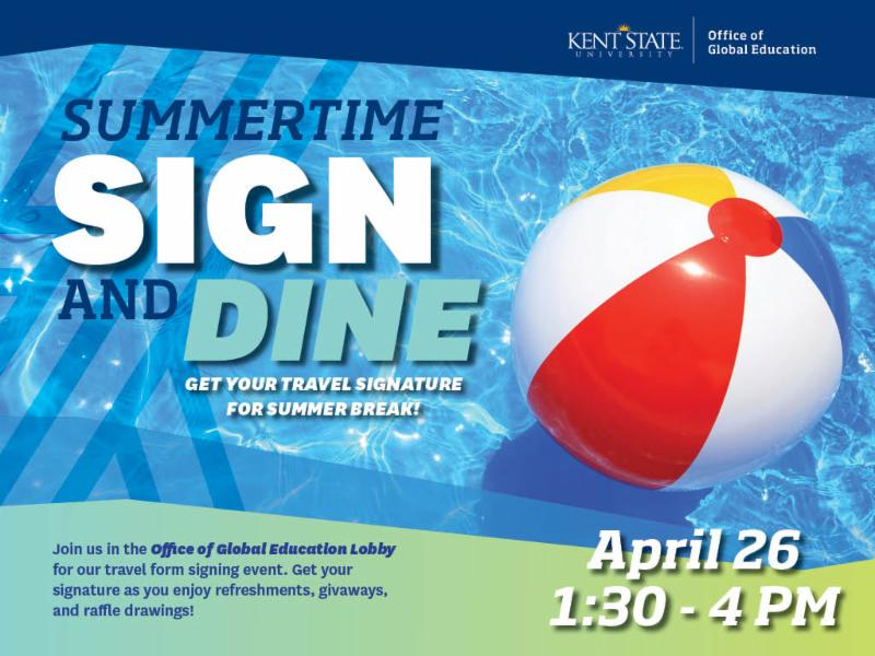 SummerTime Sign and Dine_ April 26