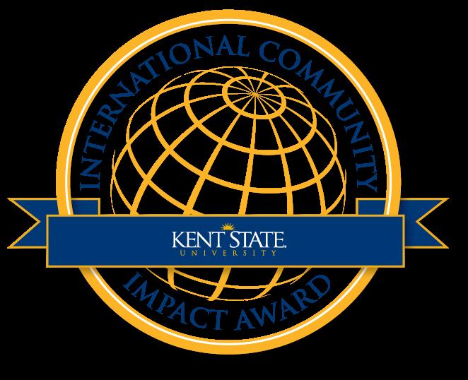 Kent State International Community impact Award