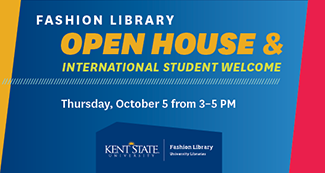 Fashion Library Open House and International Student Welcome