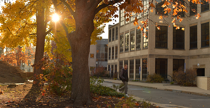 The Kent State Campus in the Fall
