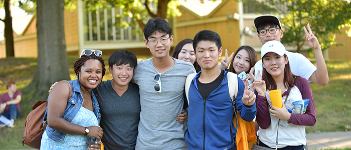 International Students Enjoy Life at Kent State