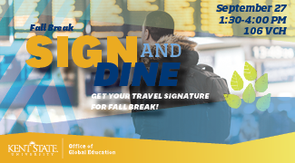 Sign and Dine Fall 2018