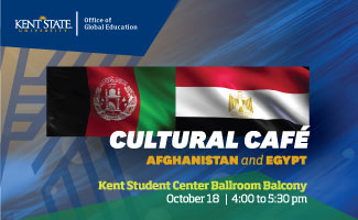 Cultural Cafe_ Egypt and Afghanistan_ October 18