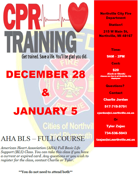 CPR Training – You can Save a Life – Woodlands South