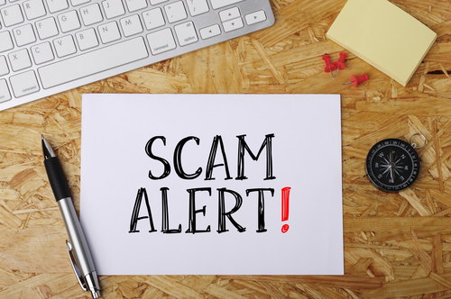 Scam Alert  Word on Office Workplace