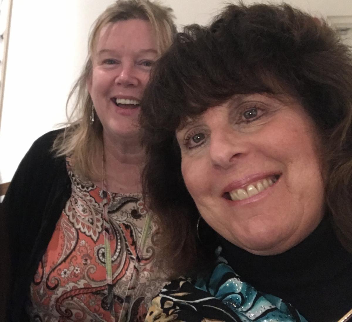 Regina Biasetti and Ann DiChiaro-Psisterer