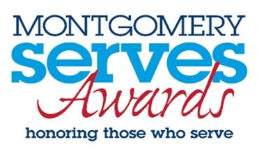 Montgomery Serves Awards logo