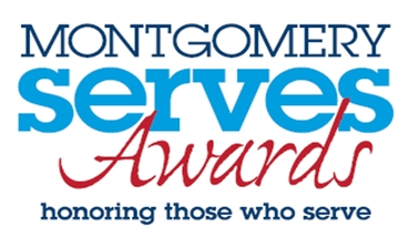 Montgomery Serves Awards logo
