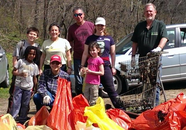 Little Falls Watershed volunteers