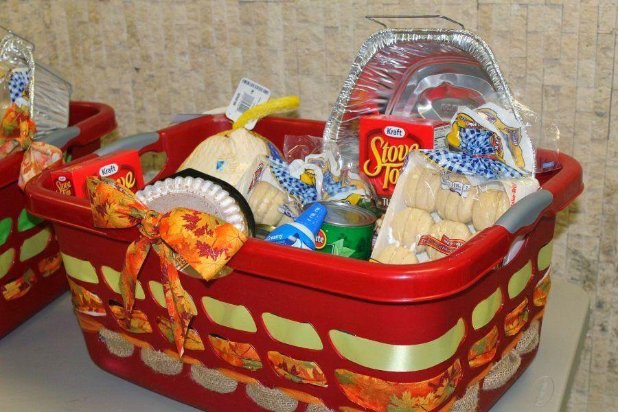 Thanksgiving food basket