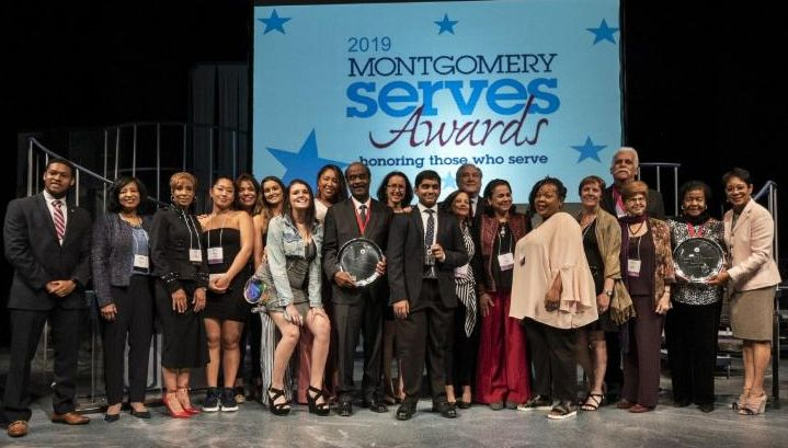 Montgomery Serves Awards honorees