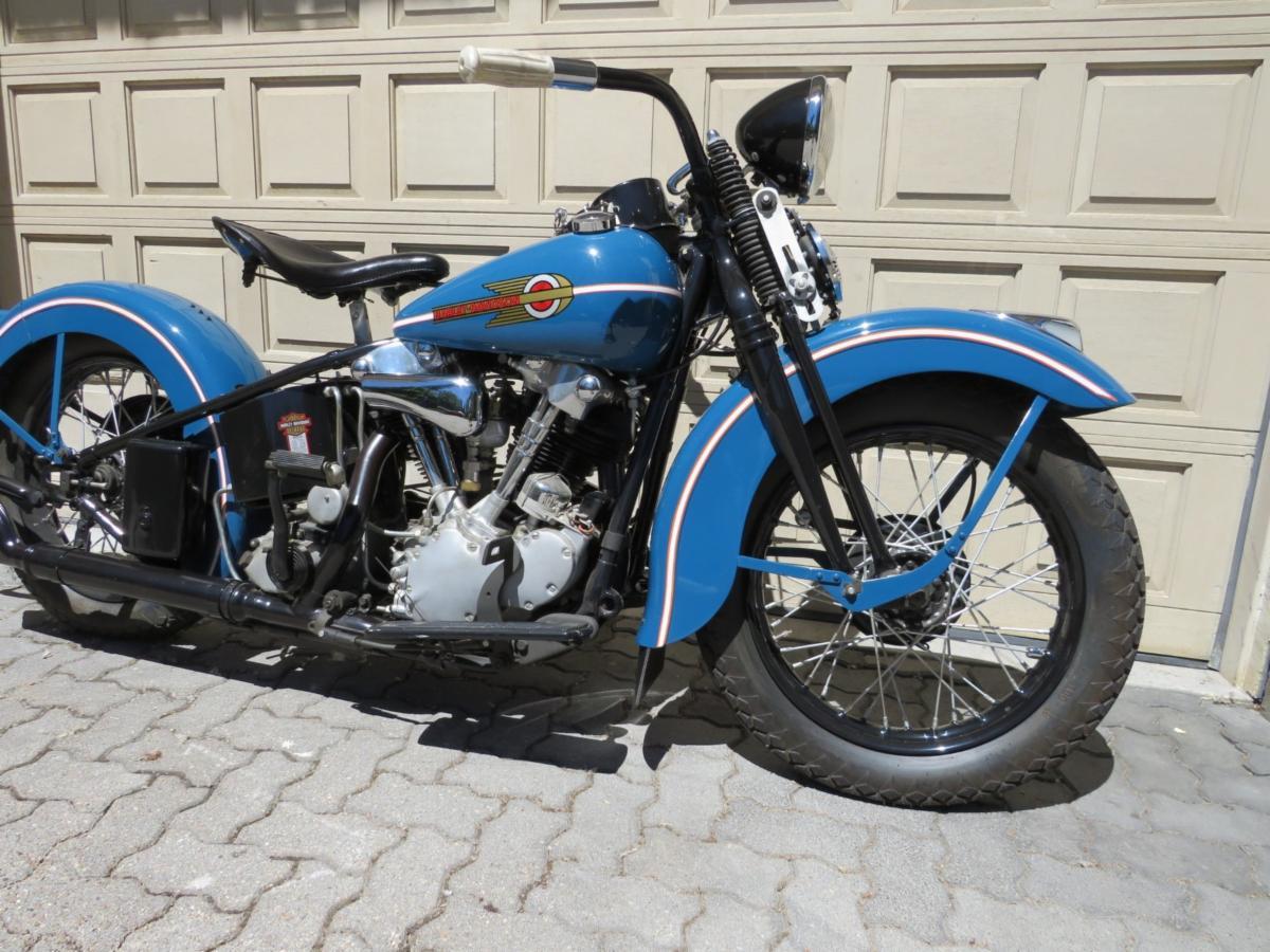 1938 Harley Davidson EL