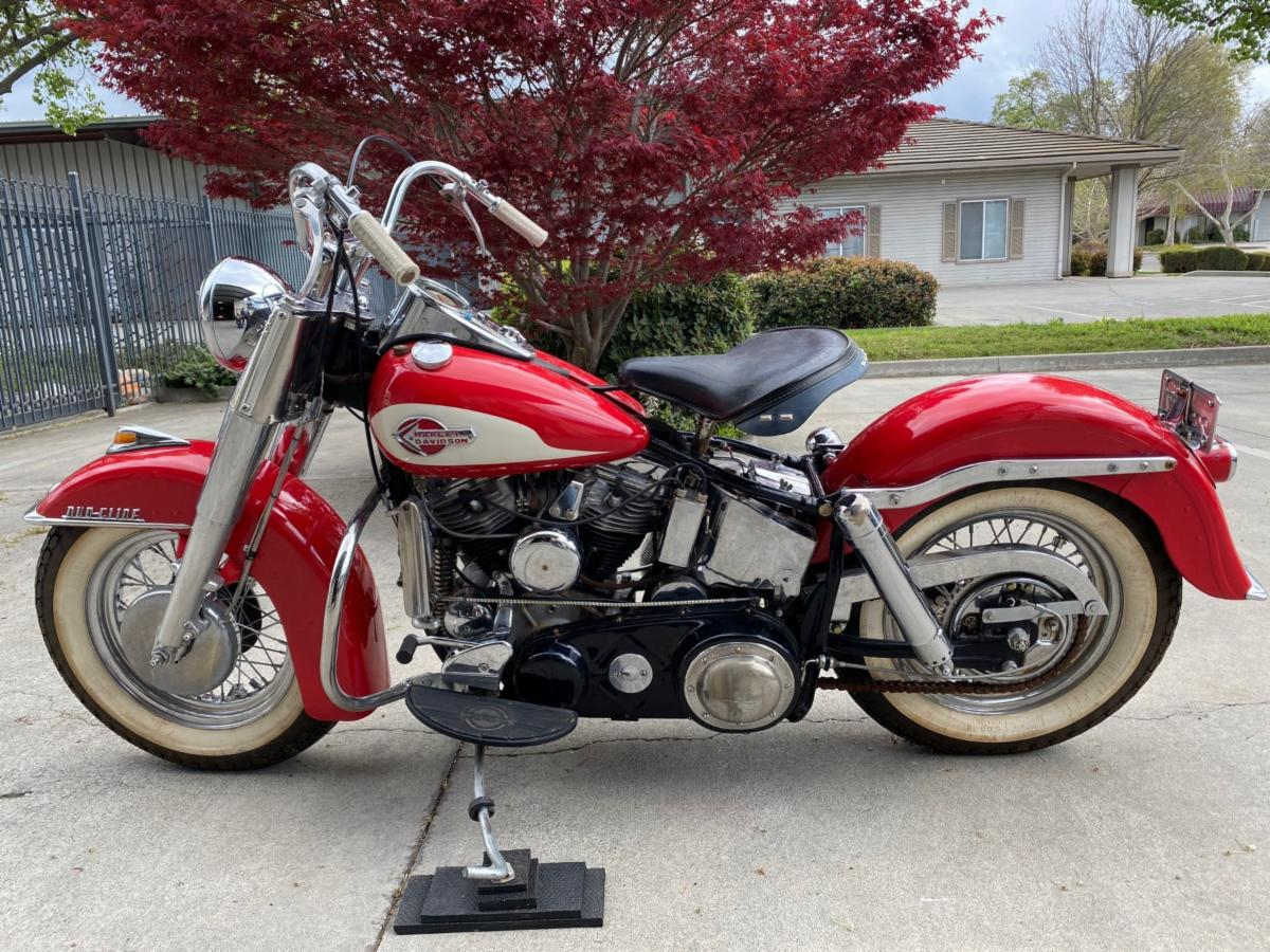 1959 Harley Davidson FLF Sport Solo With Chrome Package