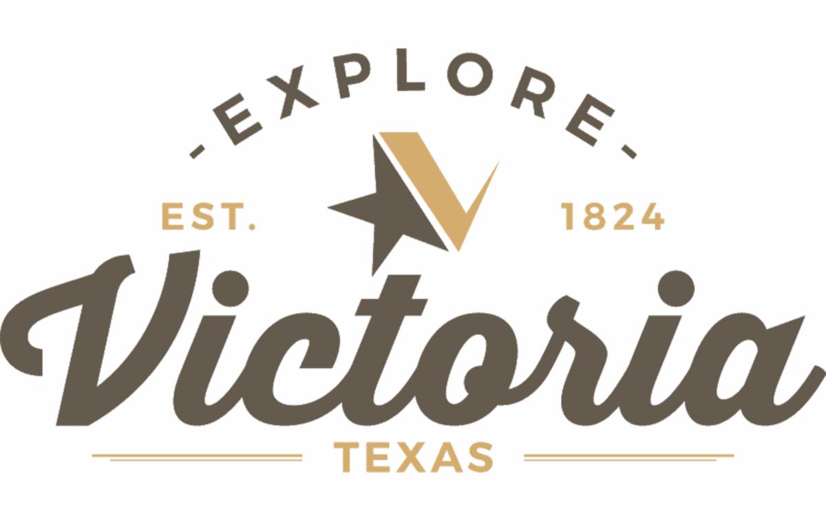 Explore Victoria logo. Explore Victoria Texas. Established 1824.
