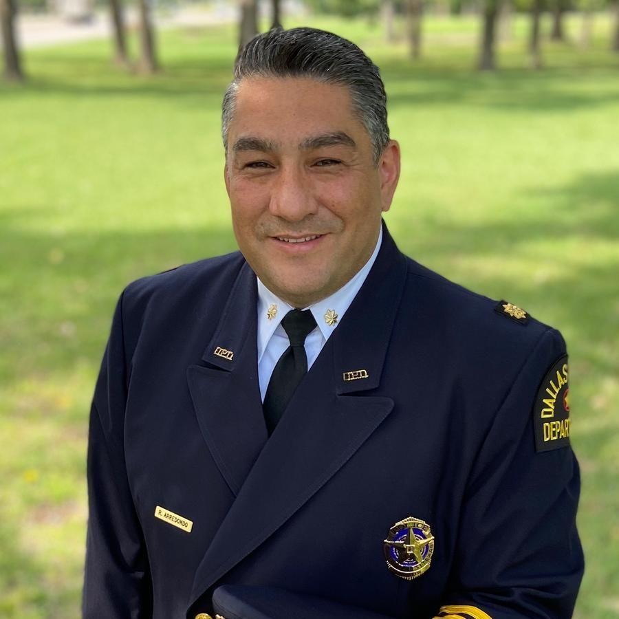 Portrait of Victoria Police Department Chief Robert Arredondo Jr.