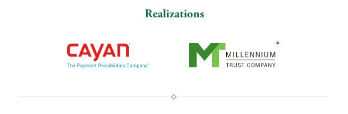 Realizations: Cayan, Millennium Trust Company*