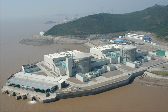 CANDU nuclear power plant at Zhejiang China Courtesy of Wikimedia