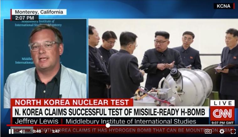 Jeffrey Lewis on CNN, September 4, 2017