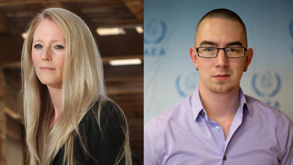 Sarah and Noah 2020 Pattison Award winners