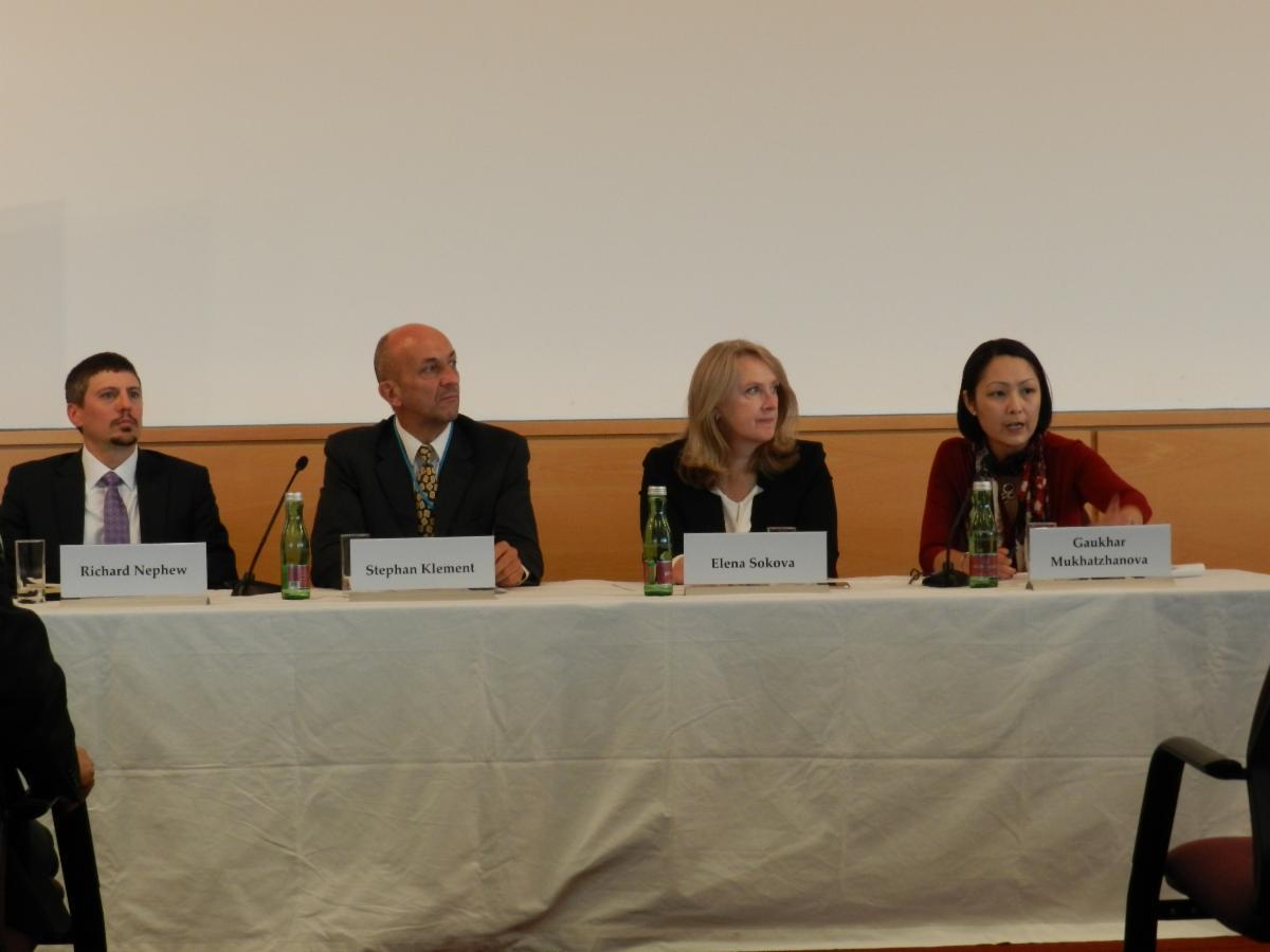 VCDNP event on JCPOA Nephew Klement Sokova and Mukhatzhanova