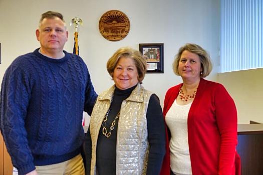 Chris Dennison, Judy Miller, Julia Carney