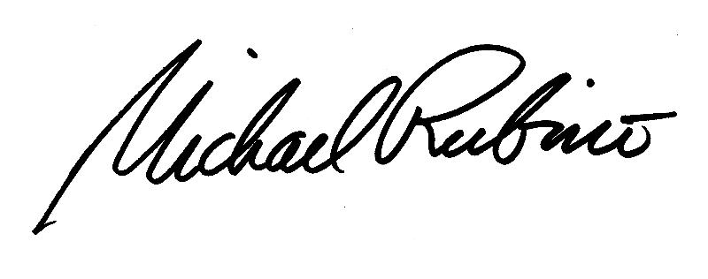 Michael Rubino signature