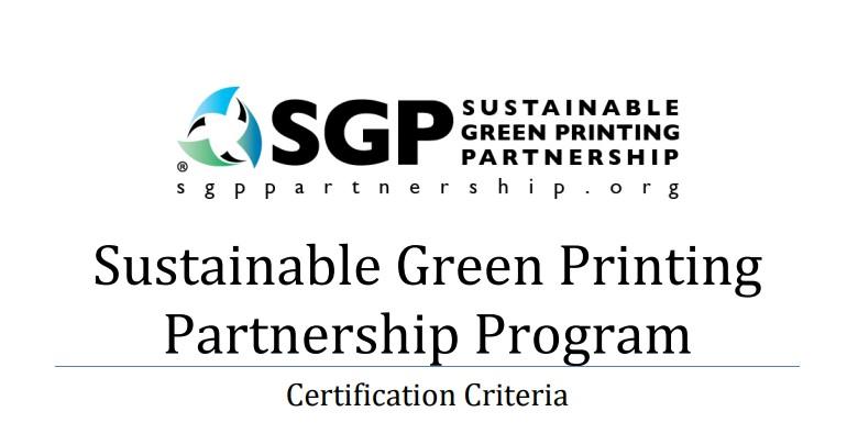 SGP Criteria cover