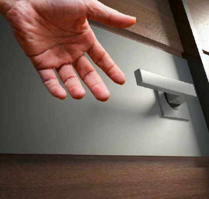 touchless door