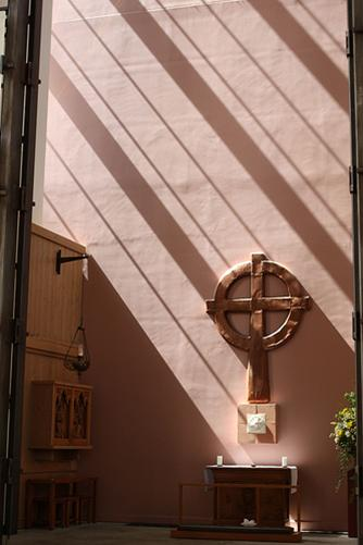 McCaw Chapel- sunlight from south