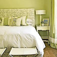 Green Monochromatic Room