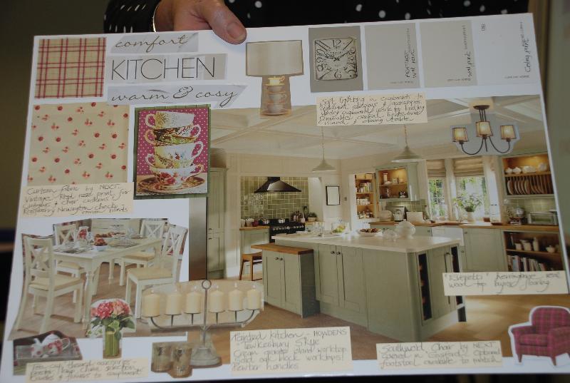 Kitchen Mood Board