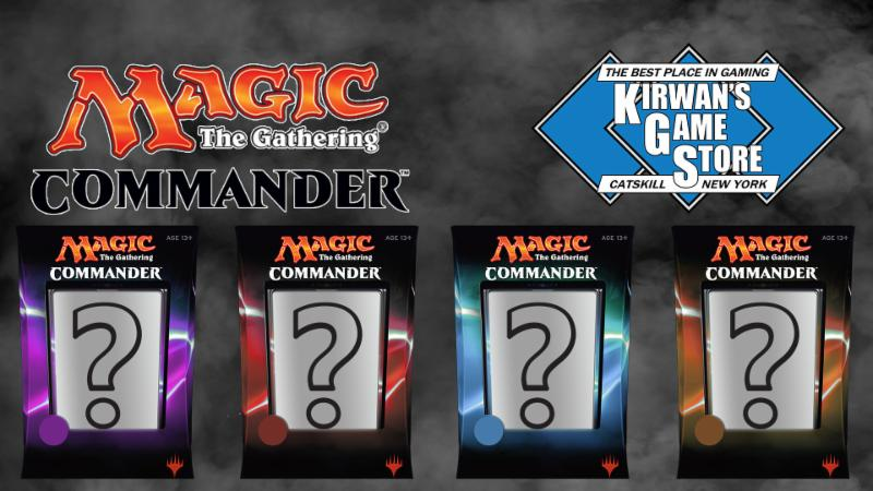 Kirwan's Game Store - Commander Random Sealed