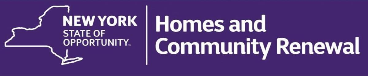 Homes and Community Renewal New York State logo