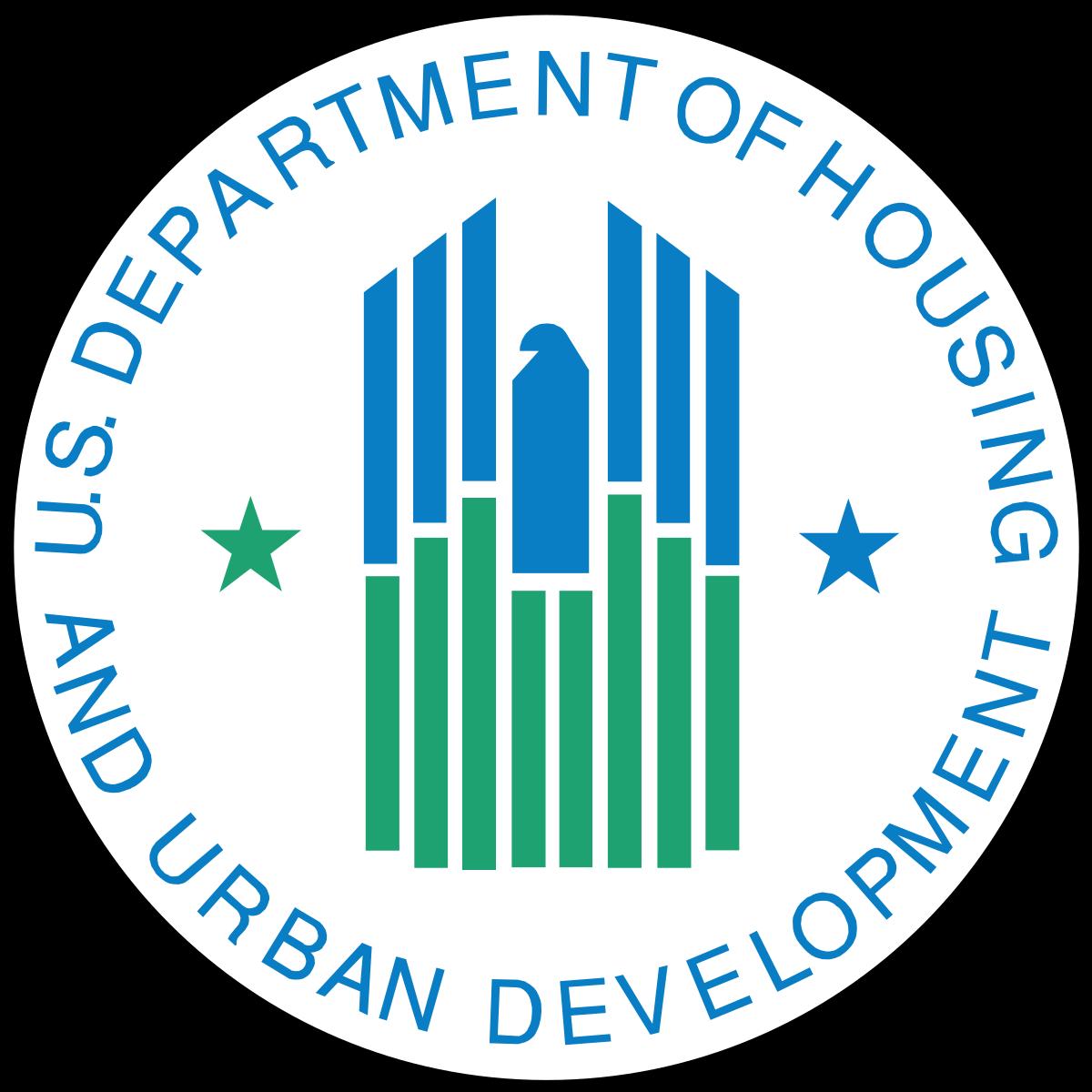 Logo for US HUD Department