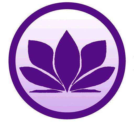 Magnified healing logo