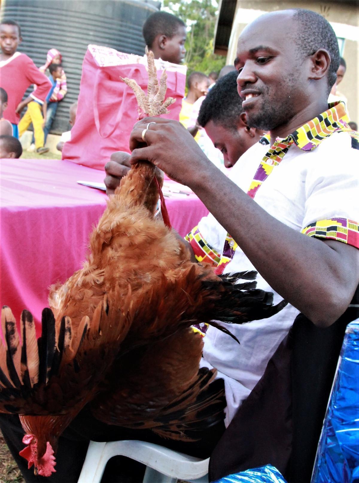 Festus wedding chicken