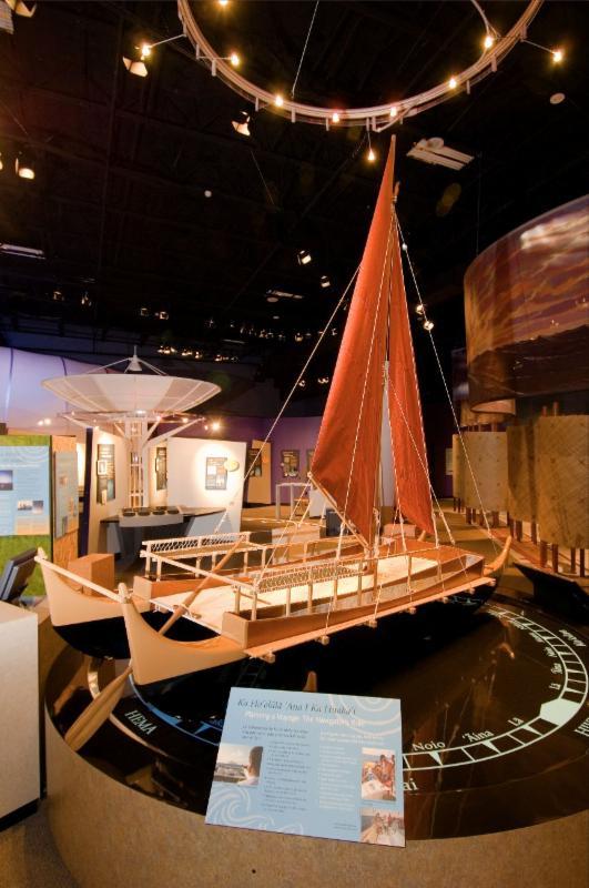 Exhibit Hall Canoe