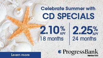Progress Bank CD
