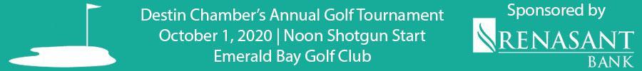 Golf Tournament Banner Ad
