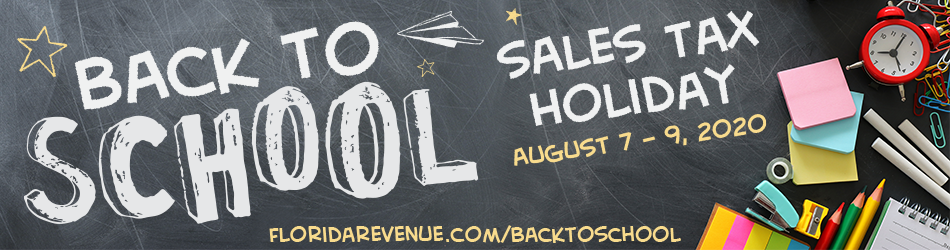 2020 Back To School Sales Tax