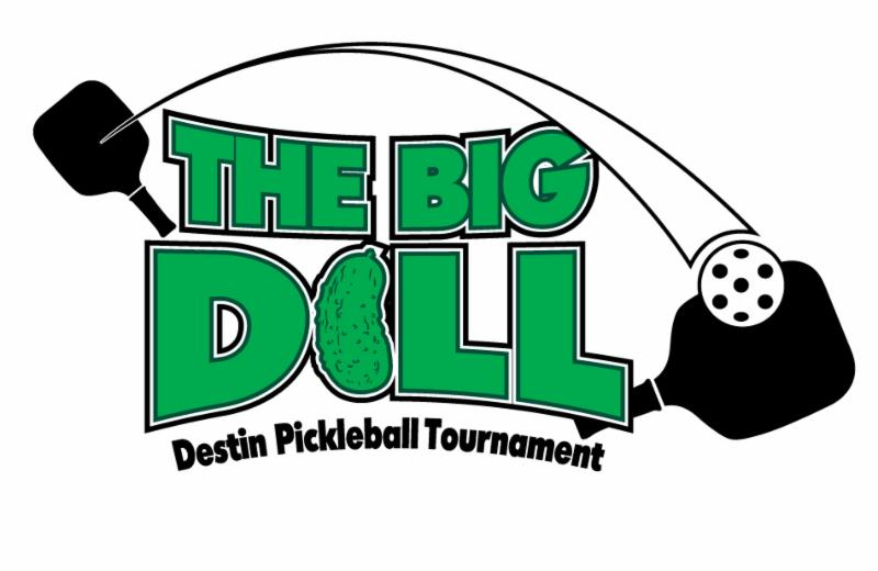 2019 Destin Pickleball Logo