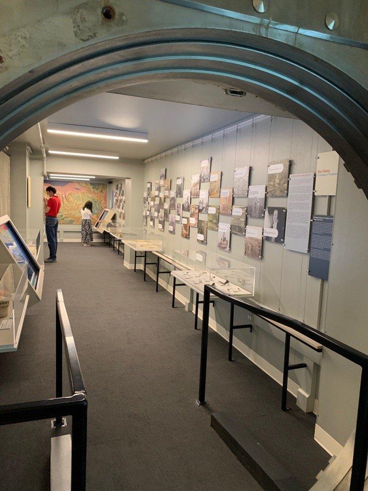 Interior of timeline